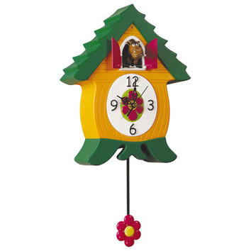 Coo Coo Animal Clocks Temple Webster