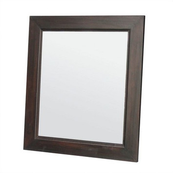 wooden frame mirror 80 x 90cm temple webster ForMiroir 80 X 90