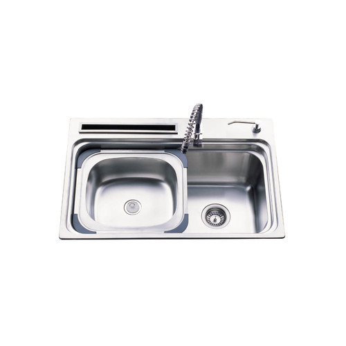 Versastyle Large Single Bowl Kitchen Sink with Multiple Accessories ...