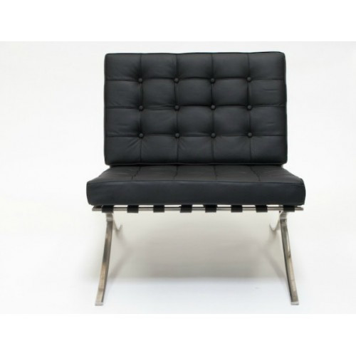 New barcelona chair classic replica ebay for Barcelona chaise replica