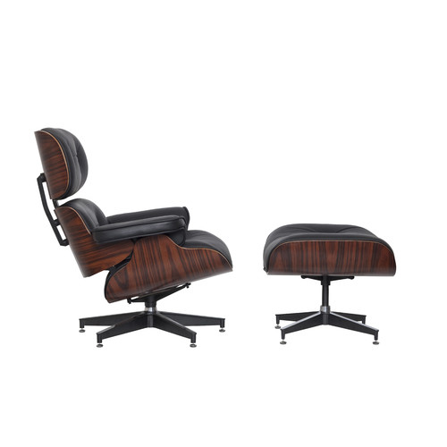 New lounge chair ottoman premium eames reproduction ebay - Eames chair reproduction ...
