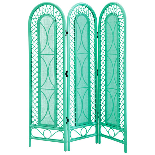 Mint Rattan Screen from Temple & Webster