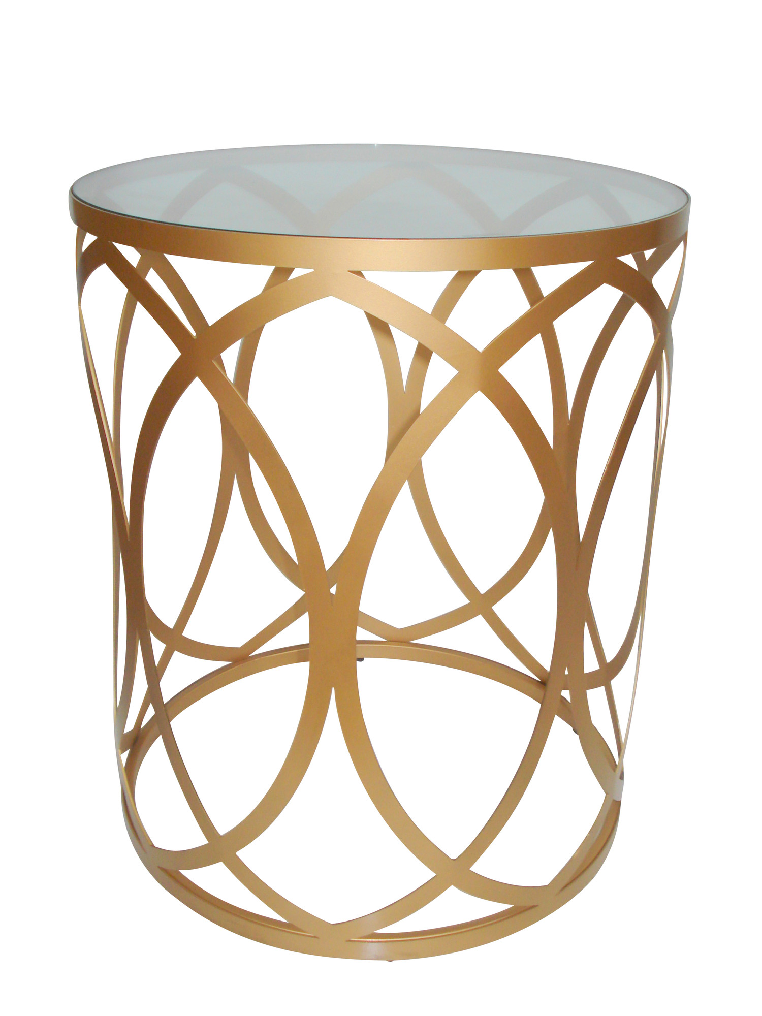 New drum side table ebay for Drum side table