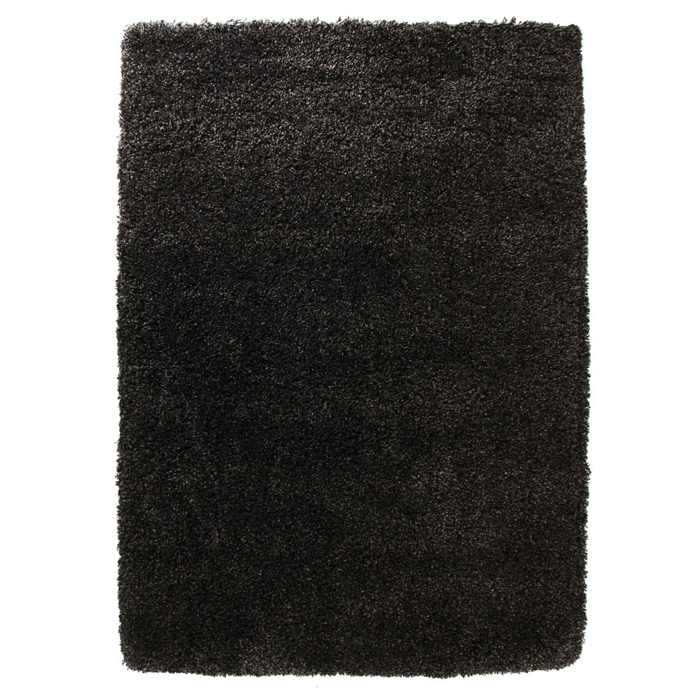 New ultra thick charcoal shag rug ebay for Thick area rugs sale