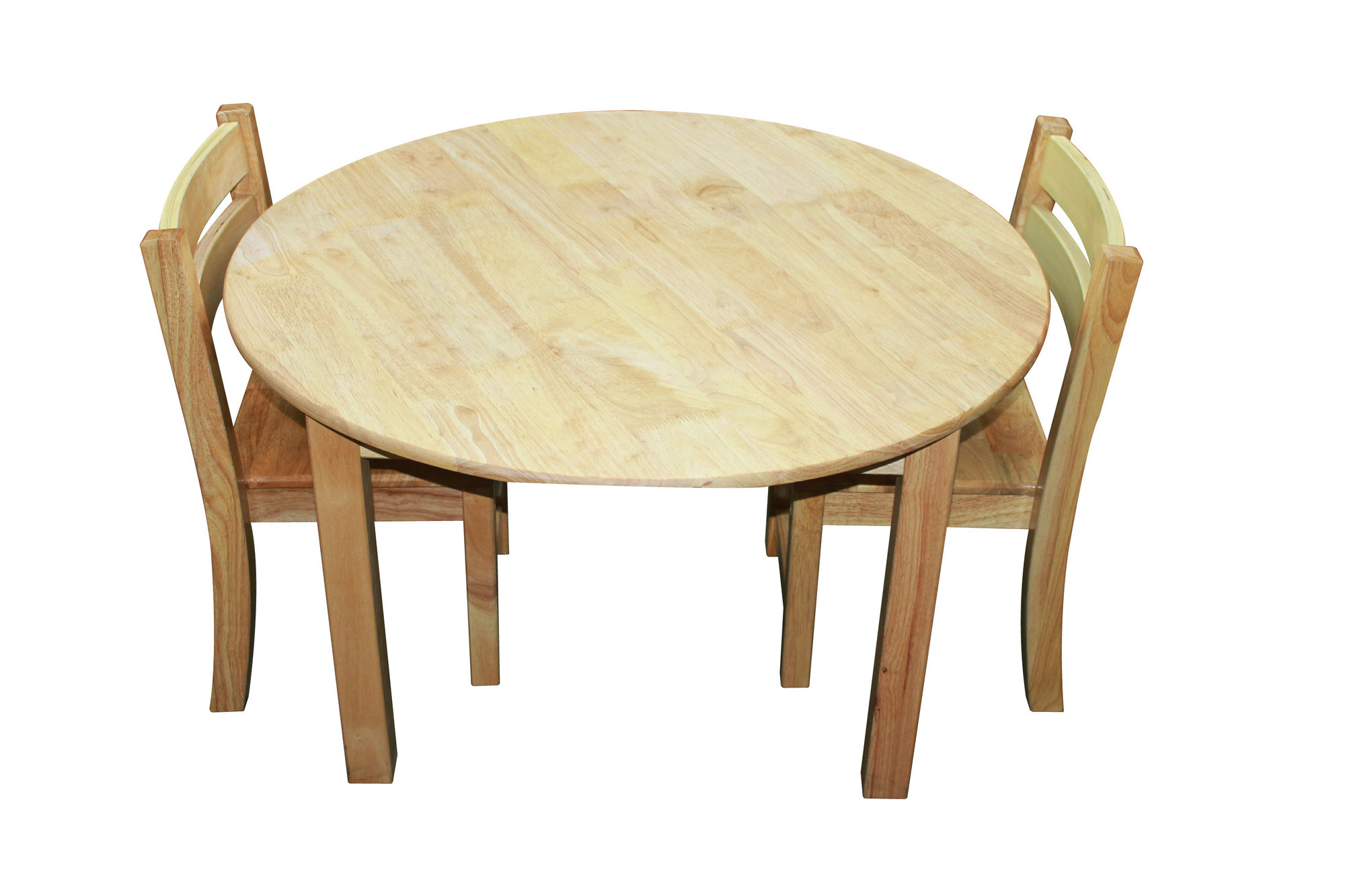 new large round table and 2 stacking chairs sku qtoy1208