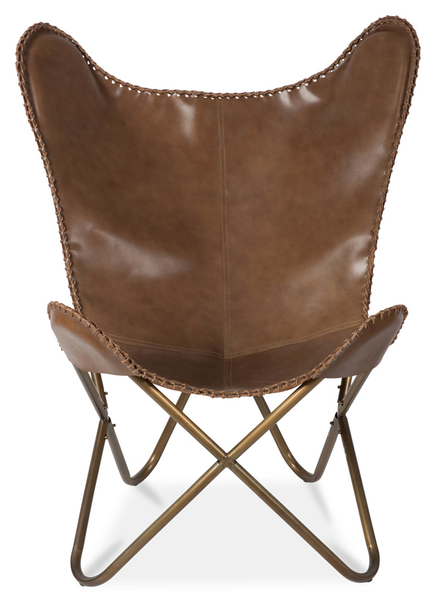 new leather butterfly chair ebay. Black Bedroom Furniture Sets. Home Design Ideas