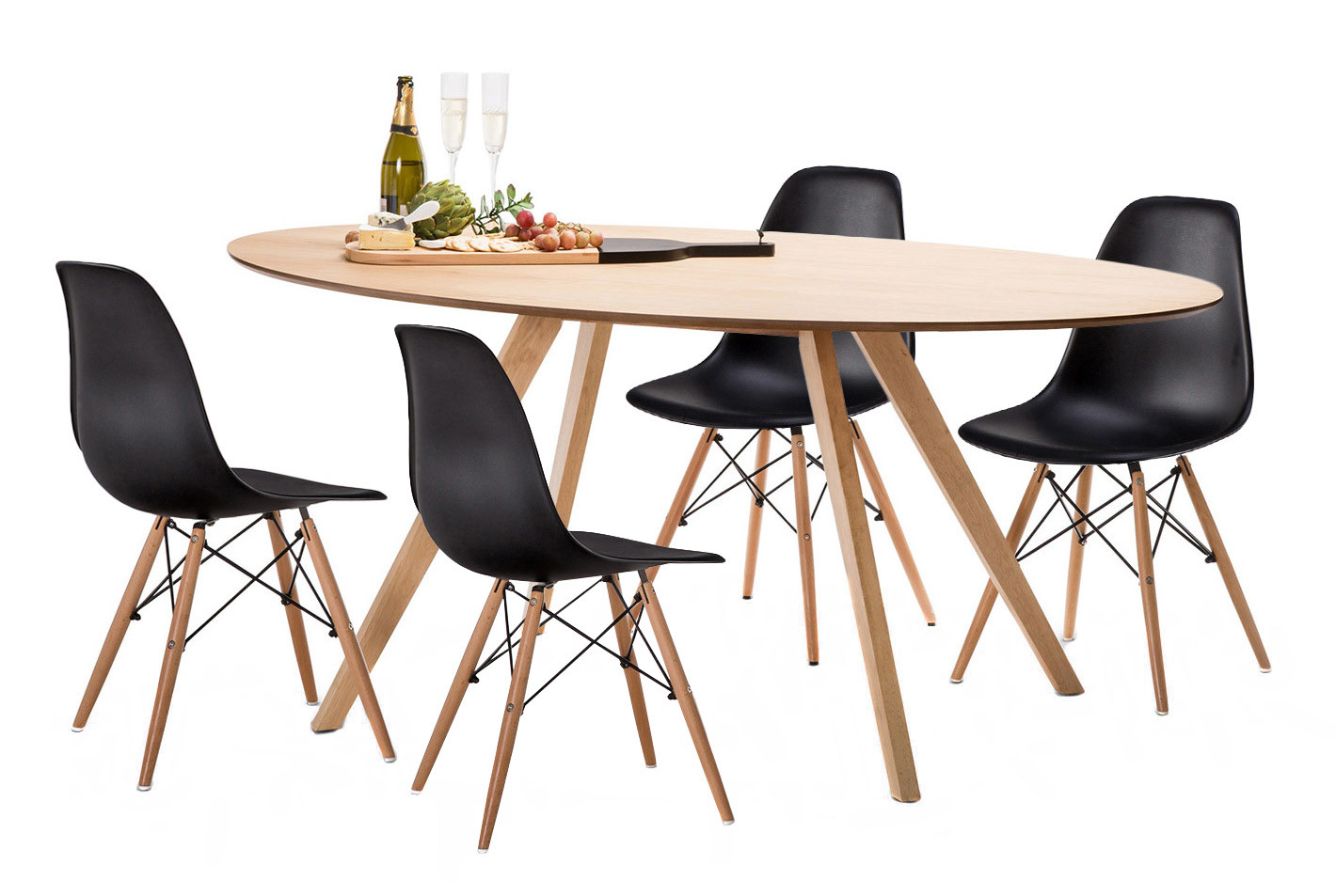 Eames Dining Table Replica Dsw Dining Table Eames  : 1 from honansantiques.com size 1420 x 953 jpeg 197kB