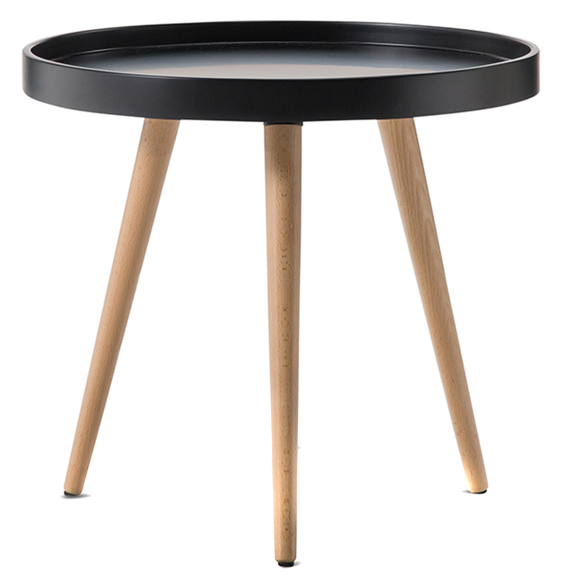 New scandi tray side table ebay for Tray side table