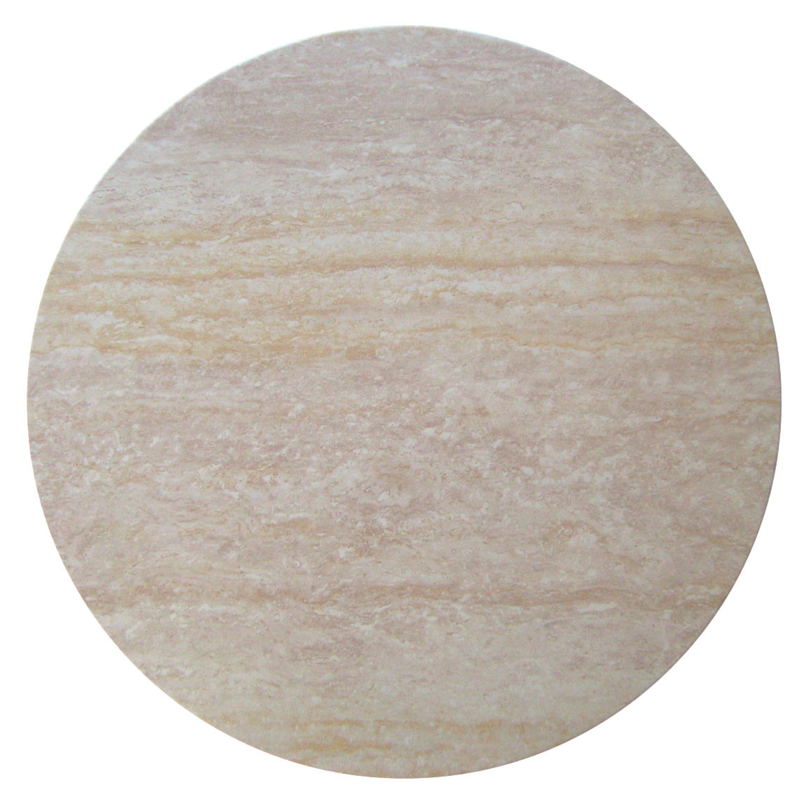 New Travertine Round Resin Table Top Ebay
