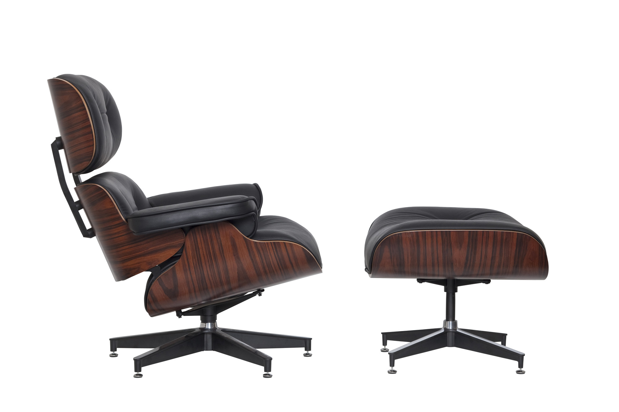 new eames classic replica lounge chair ottoman ebay. Black Bedroom Furniture Sets. Home Design Ideas
