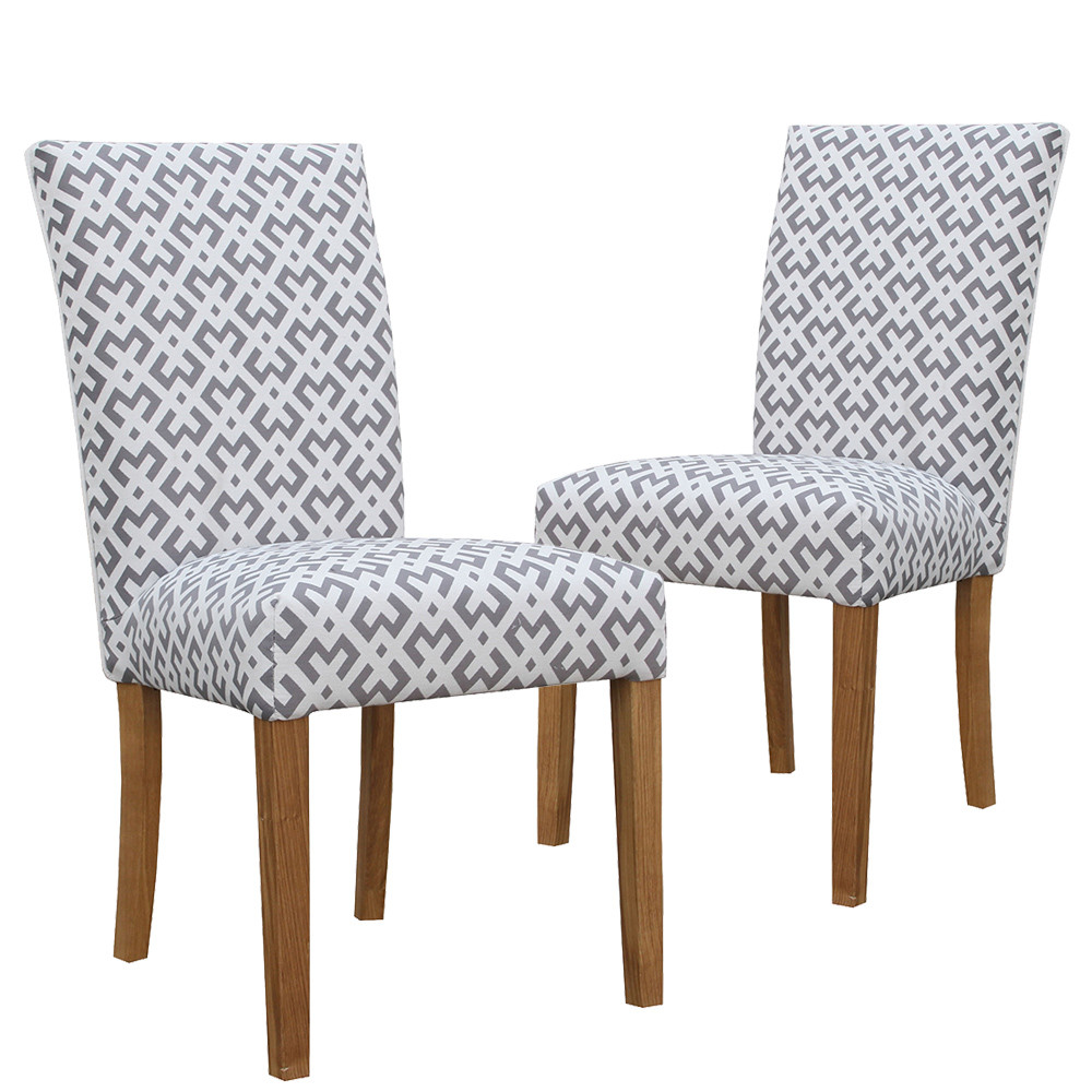 New bribie upholstered dining chairs ebay for Upholstered dining chairs