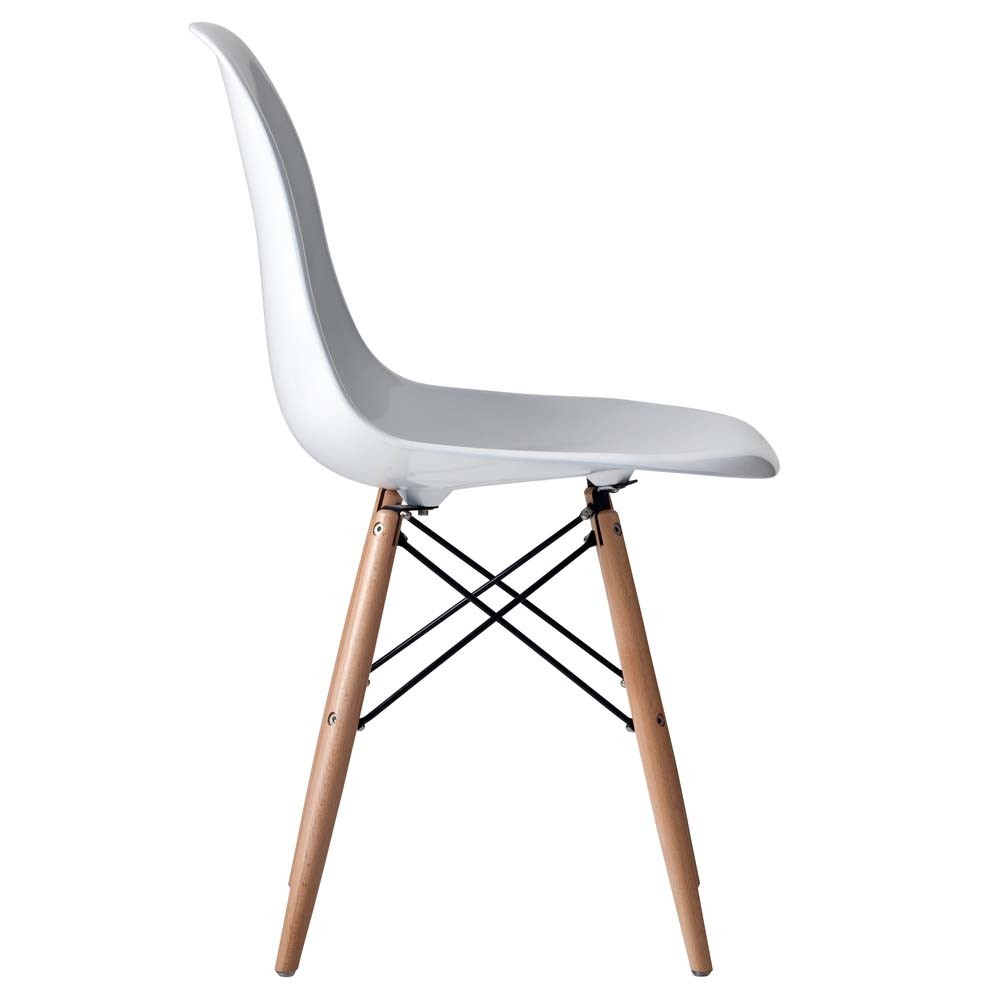 New eames replica dsw dining side chair ebay for Eames dsw replica deutschland
