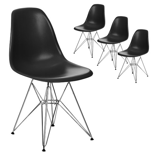 New eames replica dsr eiffel base side chair ebay for Eames side chair replica