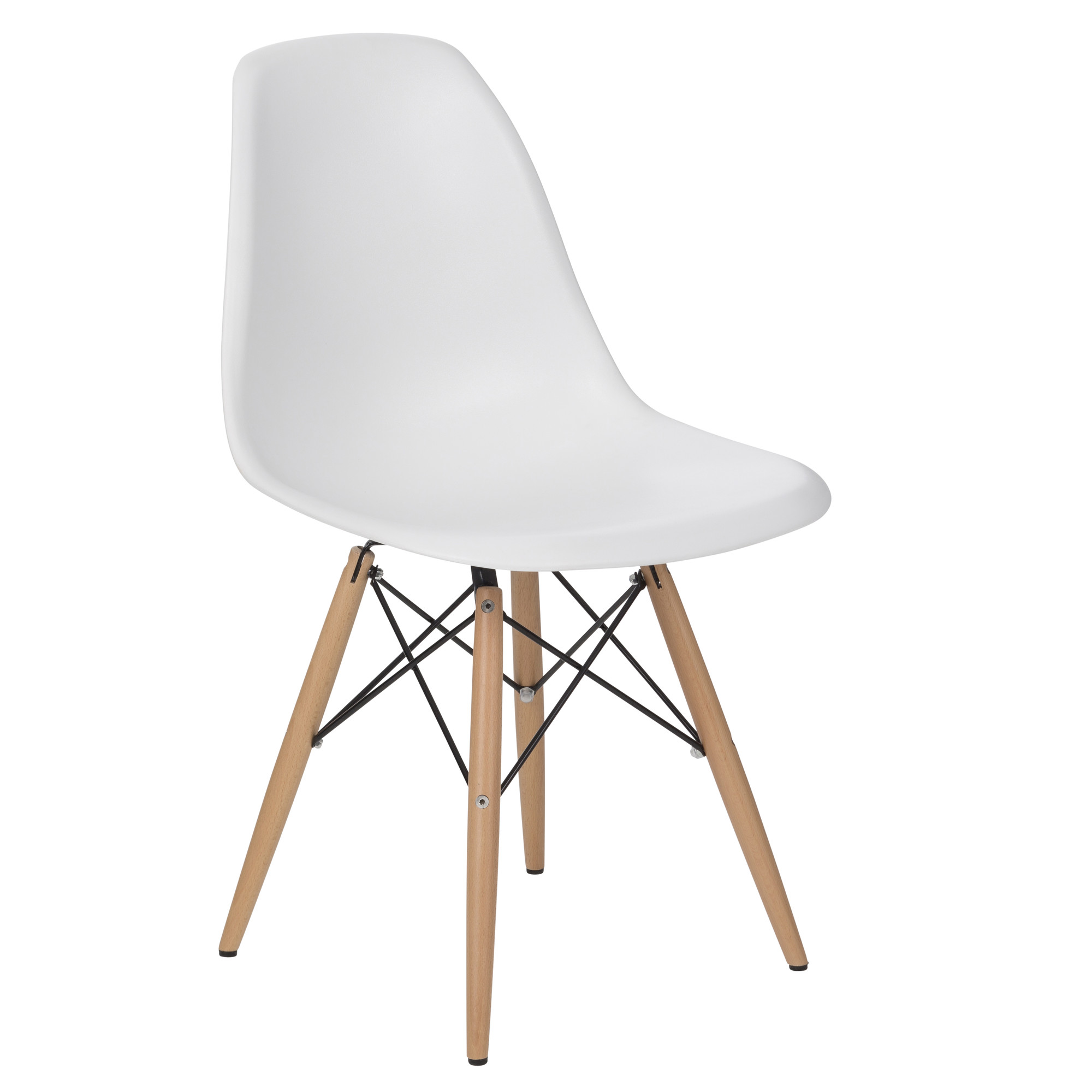 New eames replica dsw dining side chair ebay for Reproduction eames dsw