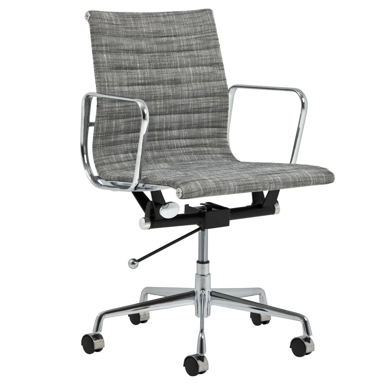 New eames replica fabric management office chair ebay for Eames lounge chair replica erfahrungen