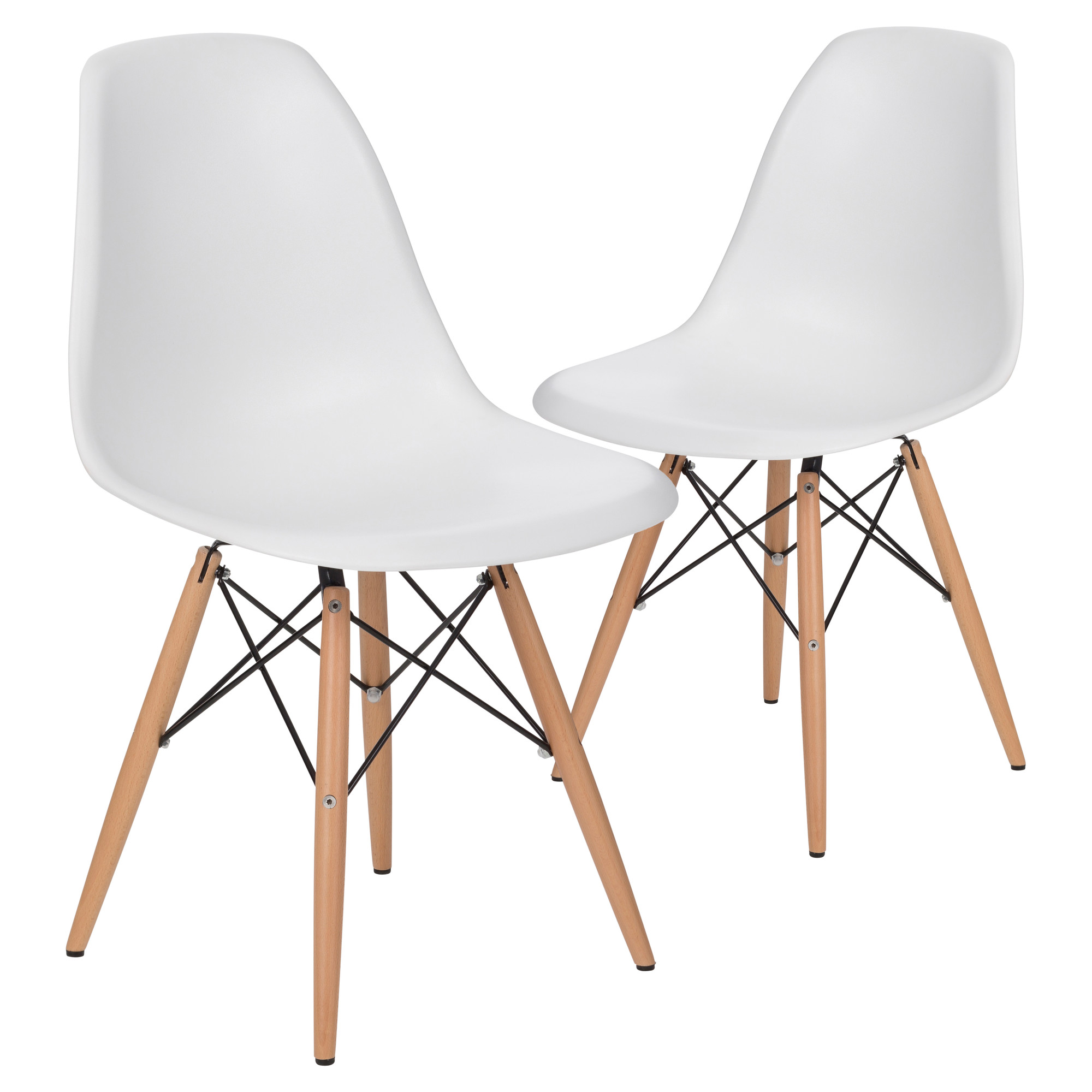 New eames replica dsw dining side chair ebay for Eames stuhl dsw reproduktion