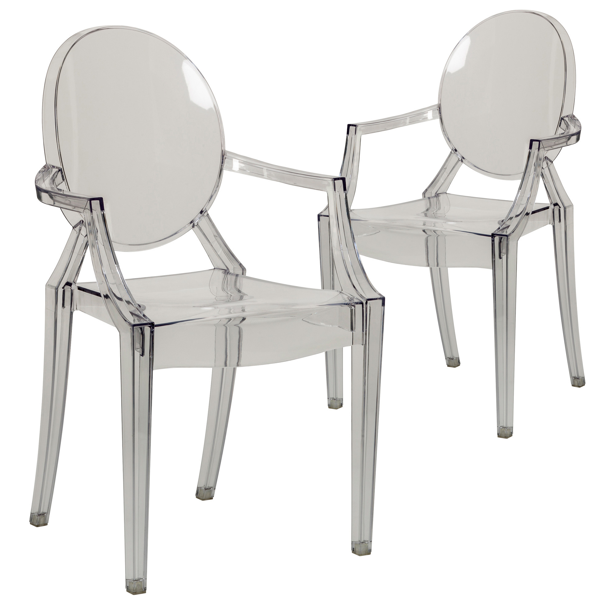 New philippe starck replica ghost armchair ebay - Chaise imitation starck ...