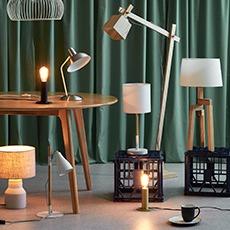 Rubi Natural Large Tripod Floor Lamp