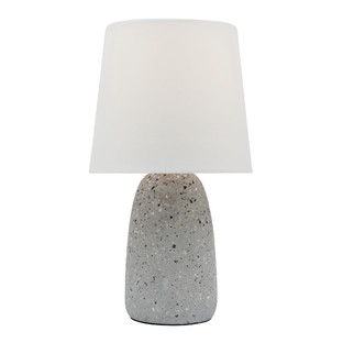 Effie Table Lamp with Grey Terrazzo Base