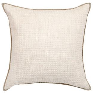 White Double Boucle Cushion