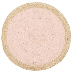 Jute Natural Pink Rug
