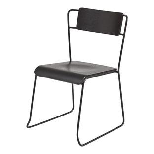Nicolas Black Frame Chair (Set of 4)