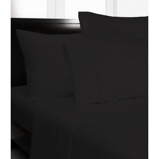Black Microfibre Sheet Set