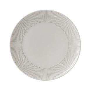 ED Ellen DeGeneres 21cm Taupe Stripe Plate