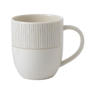 ED Ellen DeGeneres Taupe Stripe Mug