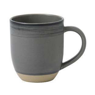 ED Ellen DeGeneres Brushed Glaze Charcoal Grey Mug