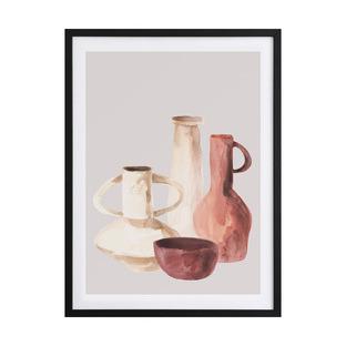 Ceramic Pots II Framed Printed Wall Art