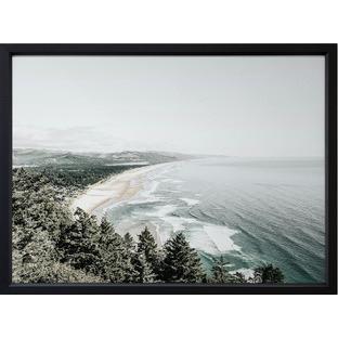 Emerald Cove Framed Print