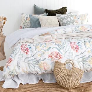 Myaree Cotton & Linen Quilt Cover Set