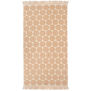 Daisy Floral Cotton Reversible Towel