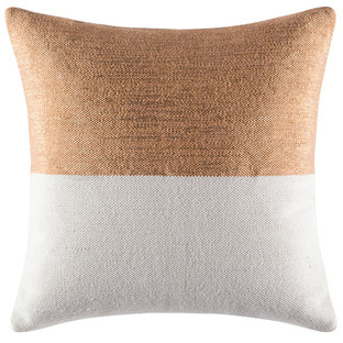 Flash Copper Square Cushion Cover