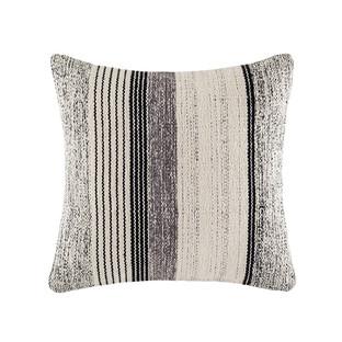 Henri Charcoal Square Cushion