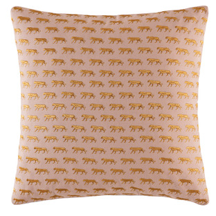 Blush Mini Tiger Cotton Cushion