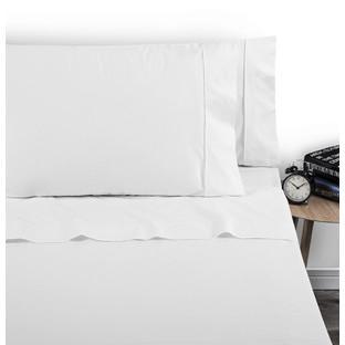 White 250 Thread Count Cotton Sheet Set