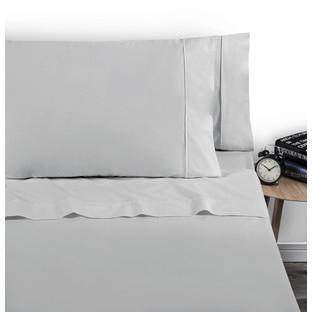 Silver 250 Thread Count Cotton Sheet Set