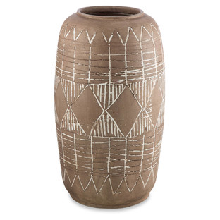 Distressed Tall Terracotta Pot