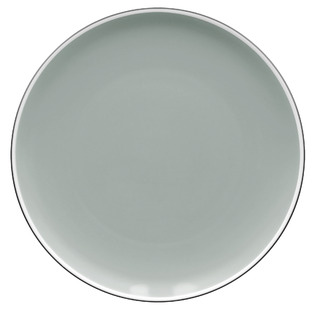 ColorTrio Graphite 27cm Coupe Dinner Plates (Set of 4)
