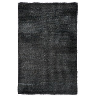 Black Cebu Abaca Rug