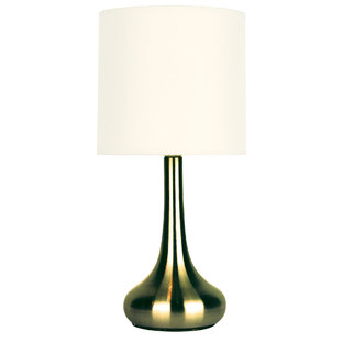Lola Touch Lamp in Antique Brass