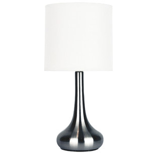 Lola Touch Lamp in Brushed Chrome