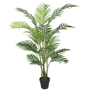 Potted Faux Areca