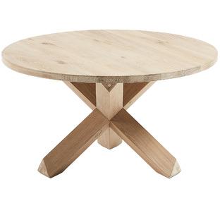 Natural Gail Oak Wood Coffee Table