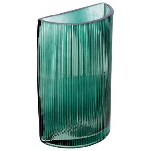 Green Zanaya Tinted Glass Vase