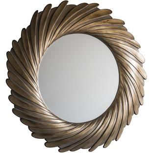 Gold Verdigris Lowry Mirror
