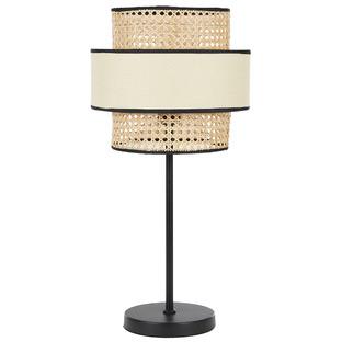 York Rattan Table Lamp