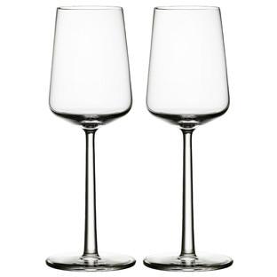 Set of 2 Iittala Essence White Wine Glasses